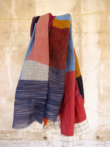 """Lakshmi Yardage- Colored"""