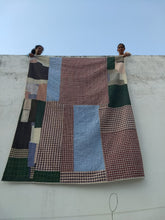 Load image into Gallery viewer, Handsewn cotton Quilt- Queen Size