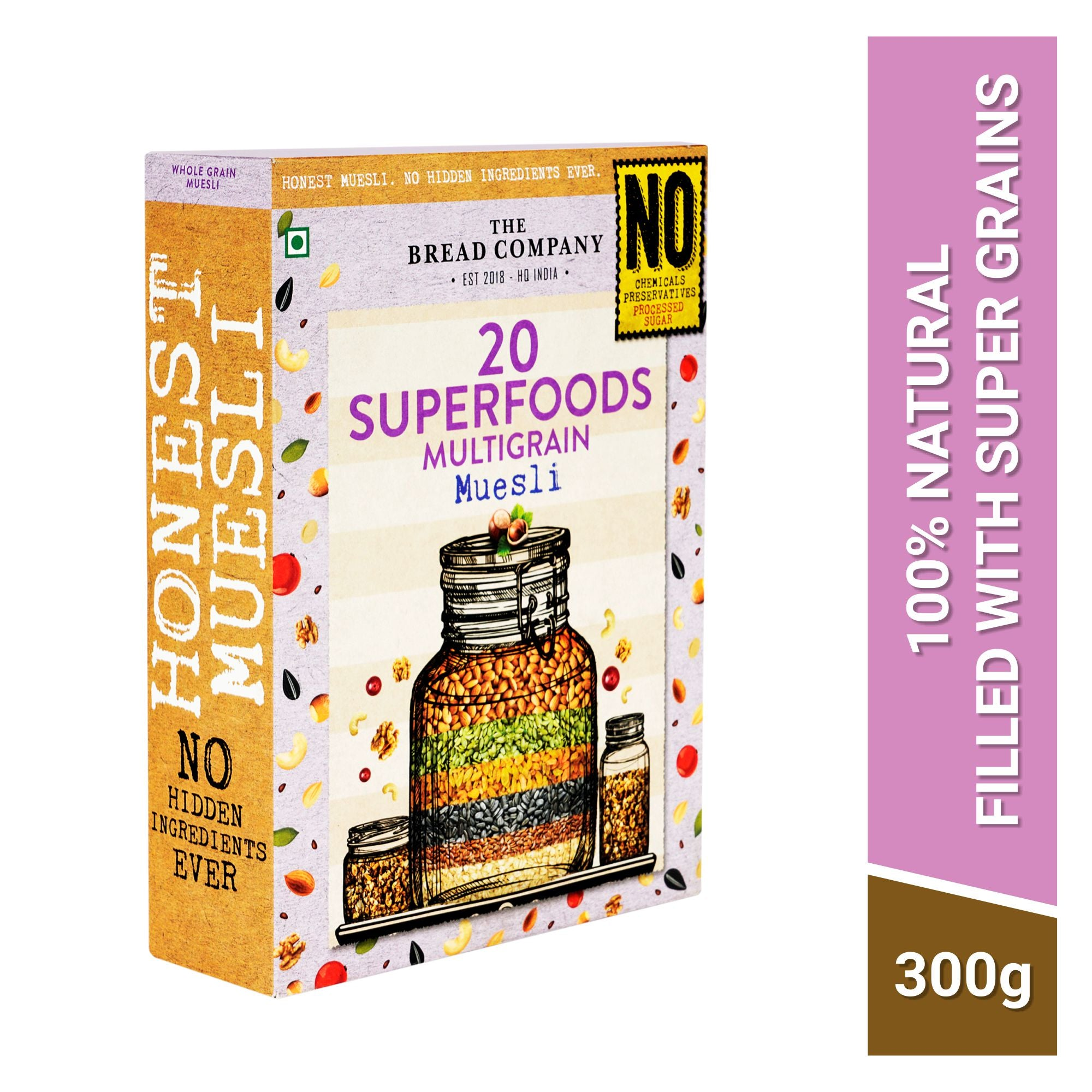 20 Superfoods Multigrain Muesli  - 300 gms