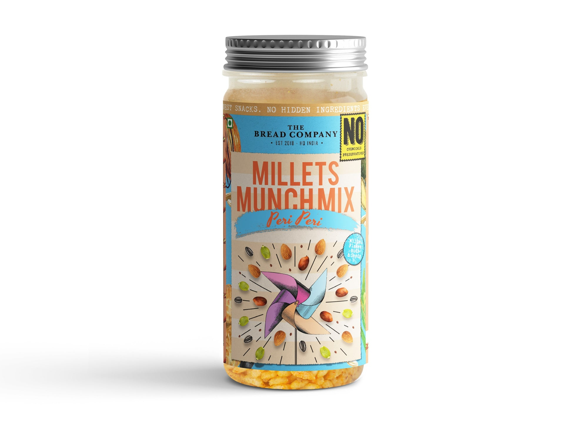 Peri peri Millet Munch mix - 160 gms
