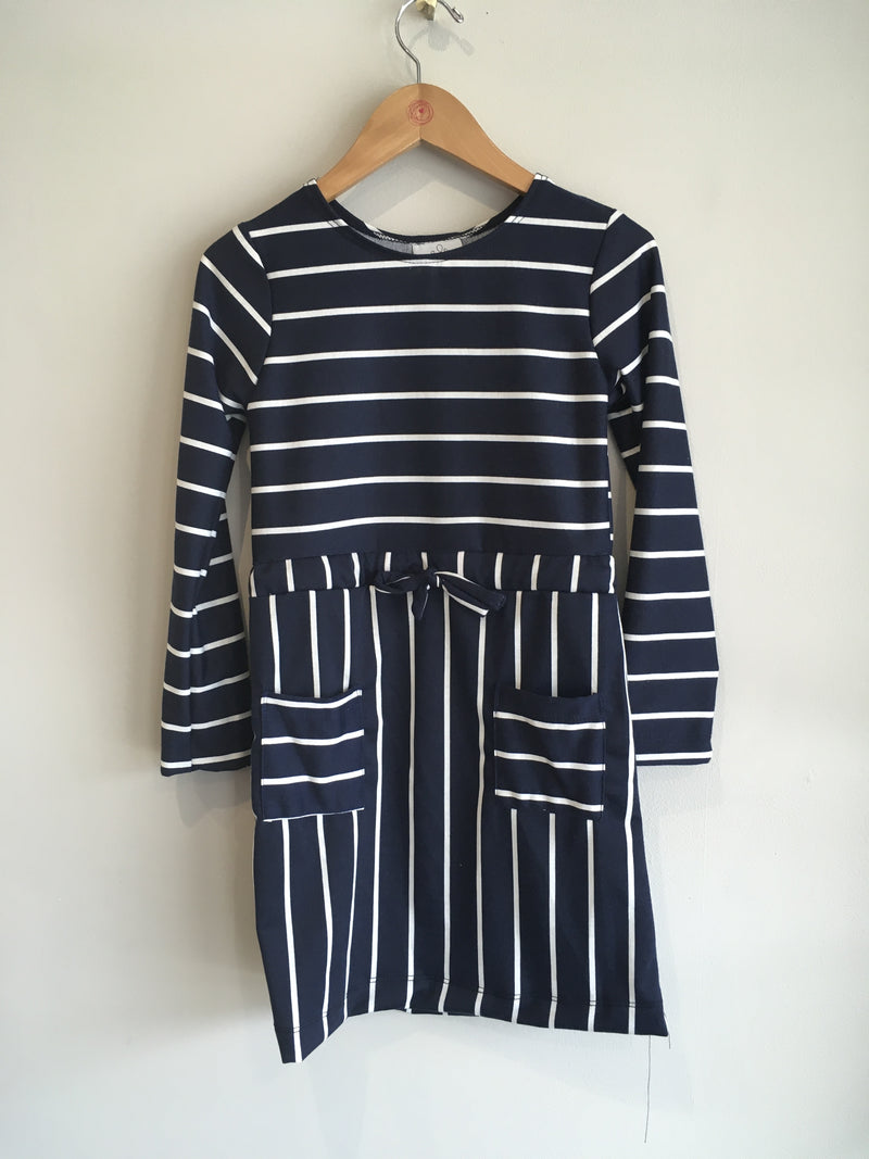 maggie stripe dress