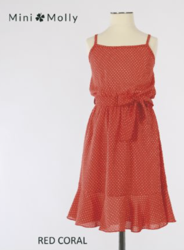 MB RED/CORAL DRESS