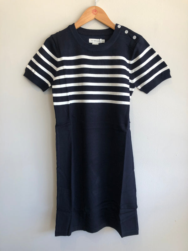rebecca knit stripe dress