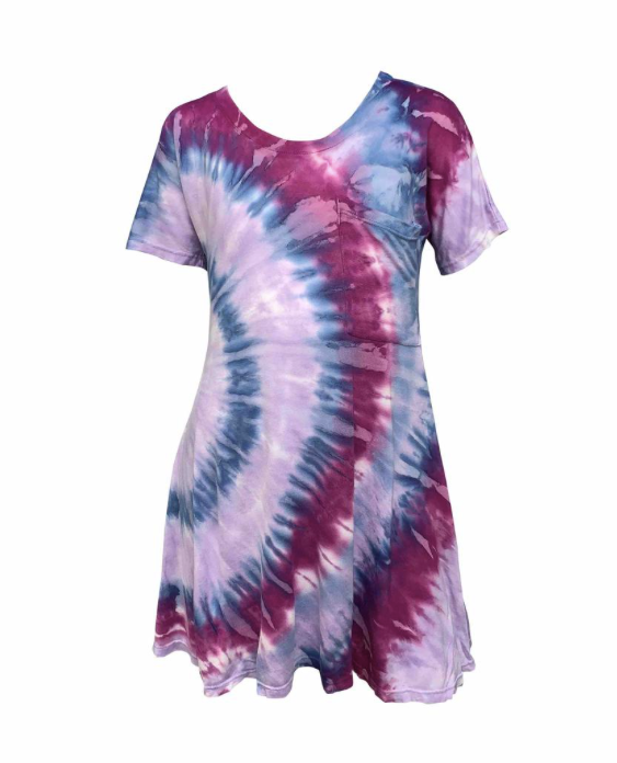 MIRACLE TIE DYE DRESS