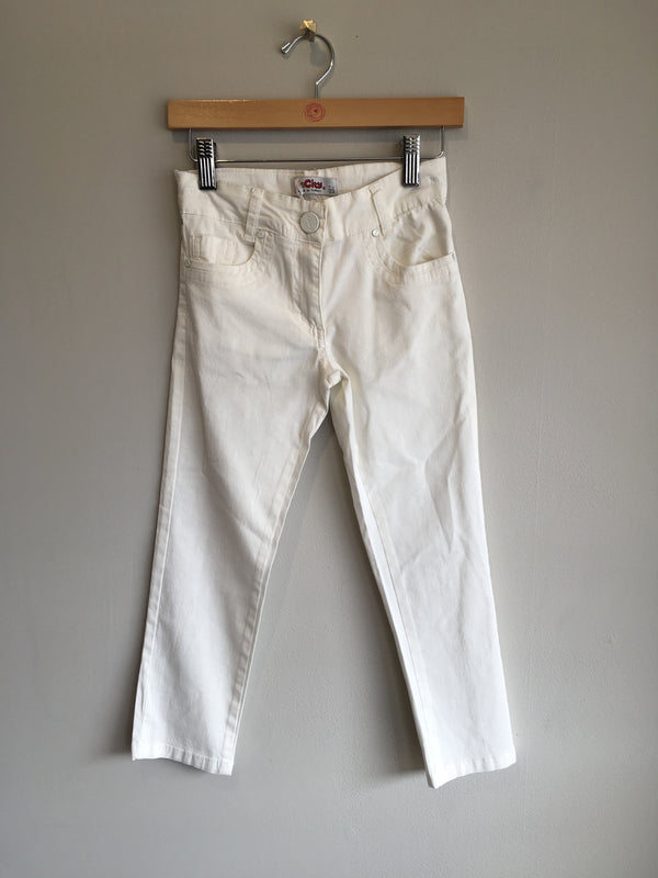 INCITY WHITE PANTS