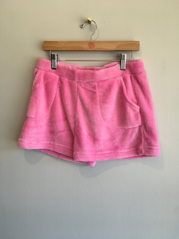 SOLID FLEECE SHORT