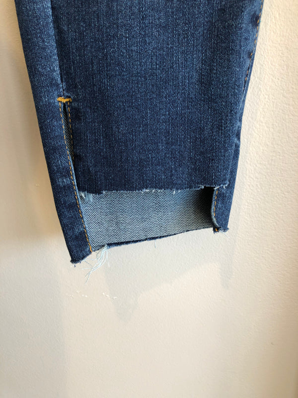 midrise ankle jeans