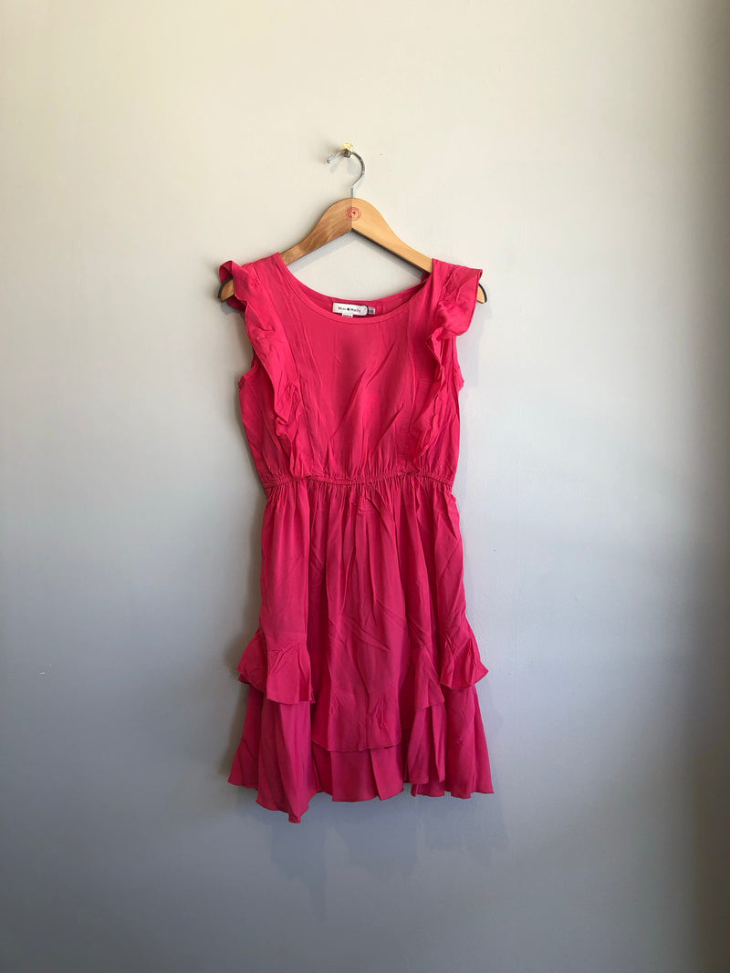 dress with ruffle detail