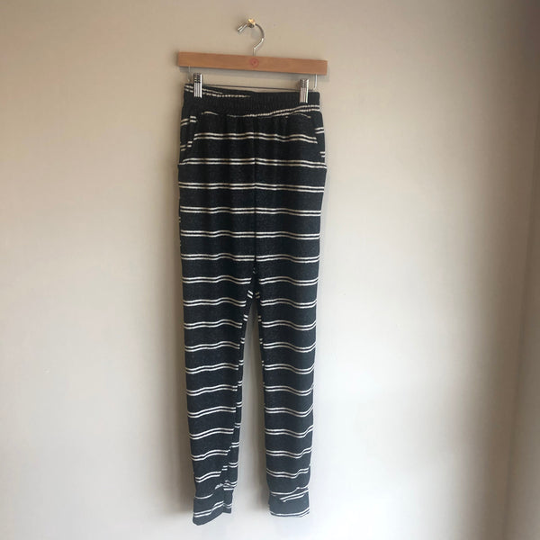 striped hacci jogger