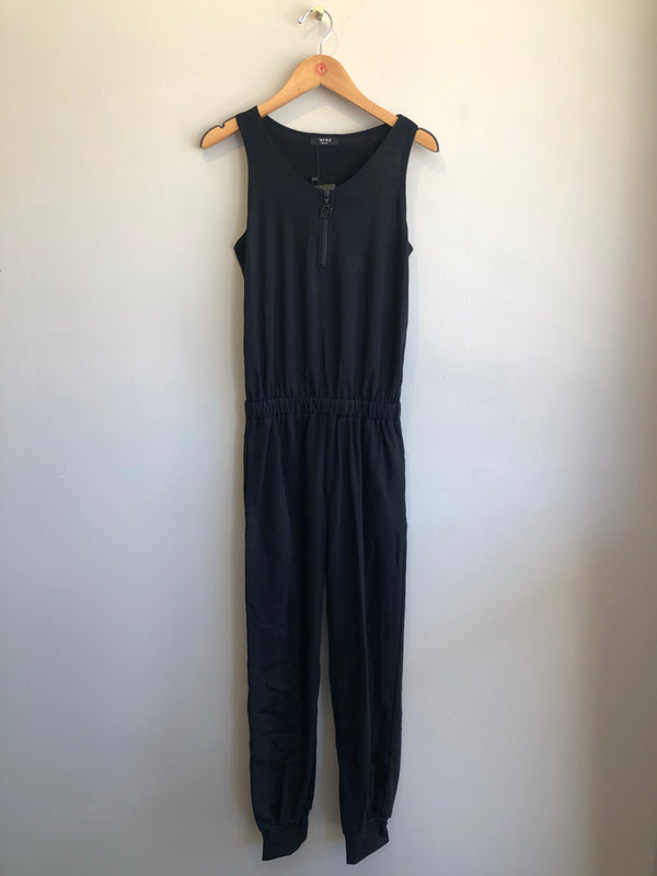 quarter zip jumpsuit