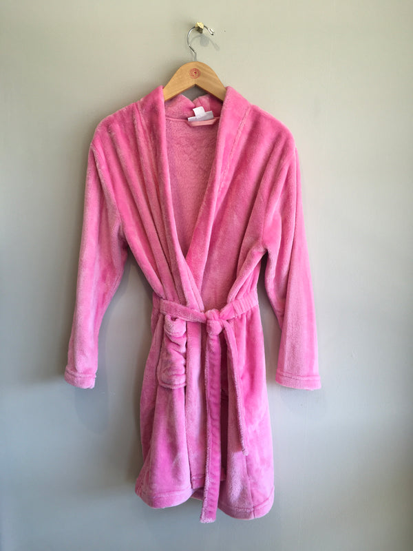 SOLID FLEECE ROBE