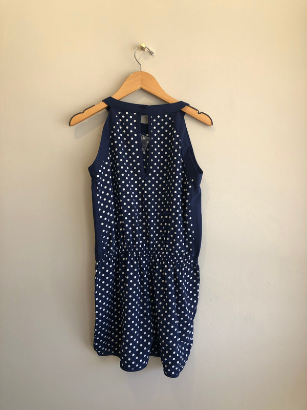 polk dot romper