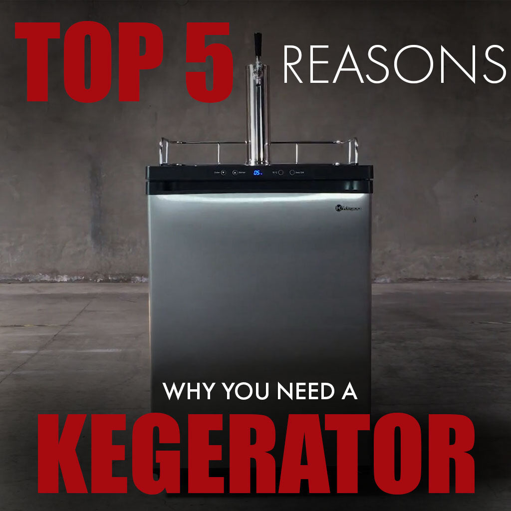 Top 5 Reasons Why You Should Buy A Kegerator