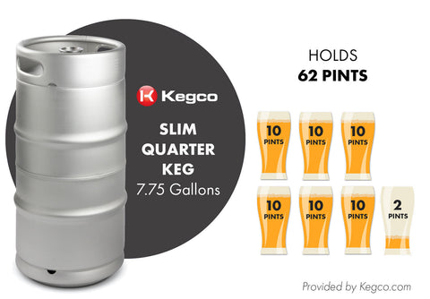 Slim Quarter Keg