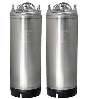 5 Gallon Ball Lock Keg - Strap Handle - Set of 2