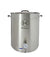 Brew Kettle - 30 Gallon - Thermometer & 2-Piece Ball Valve