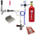 Deluxe Single Tap Door Mount Kegerator Conversion Kit with 5 lb. CO2 Tank