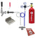 Deluxe Low Profile Door Mount Kegerator Kit with 5 lb. CO2 Tank