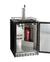 "24"" Wide Single Tap Stainless Steel Built-In Right Hinge Kegerator with Kit"