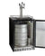 "24"" Wide Triple Tap Stainless Steel Built-In Left Hinge Digital Kegerator with Kit"