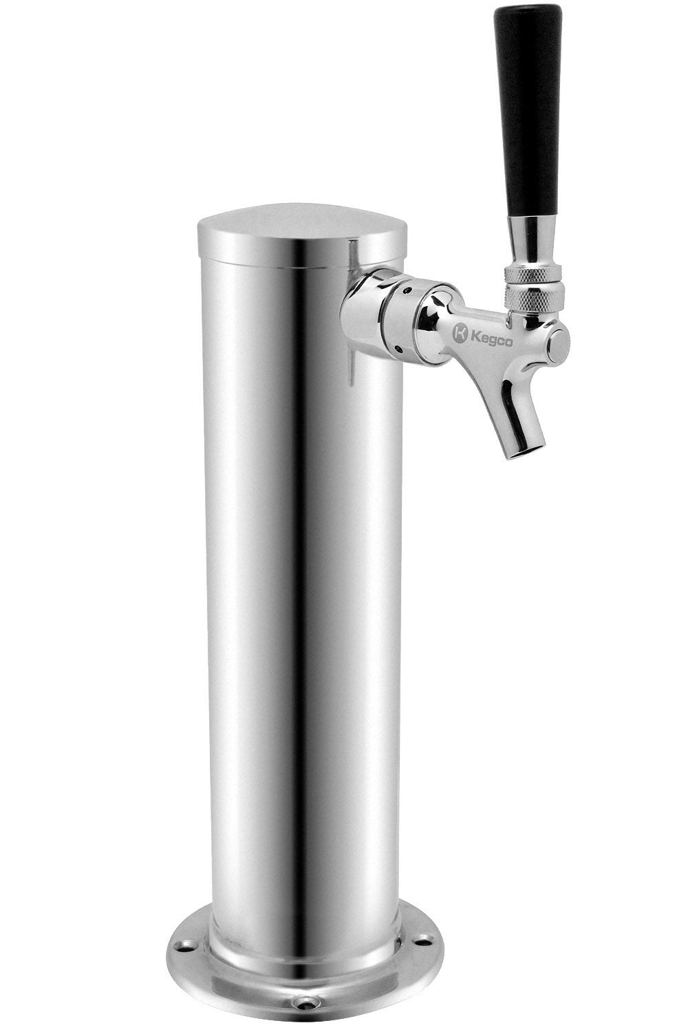"""Details about  /NEW KEGCO 3/"""" SS SINGLE FAUCET TOWER POLISHED STAINLESS STEEL MODEL DT1F-145S"""