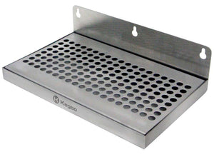 "10"" x 6"" Wall Mount Drip Tray without Drain"