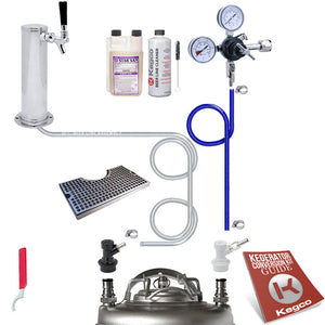 Ultimate Tower Homebrew Kegerator Conversion Kit without Tank - Ball Lock