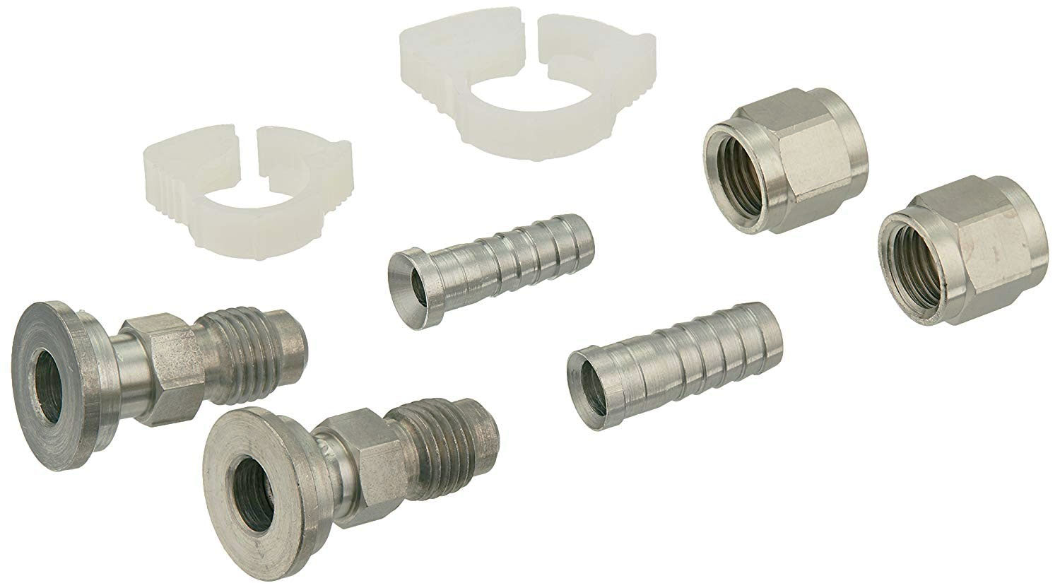 "Home Brew 1/4"" MFL Ball Lock / Pin Lock Quick Disconnect Set"