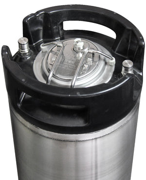 2.5 Gallon Ball Lock Keg with Strap Handle