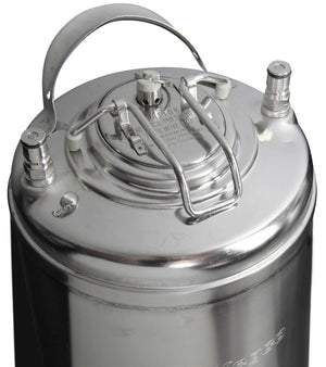5 Gallon Ball Lock Keg with Strap Handle