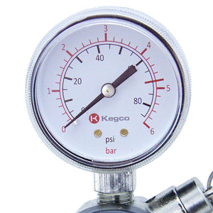 Commercial Grade Double Gauge Two Product CO2 Regulator