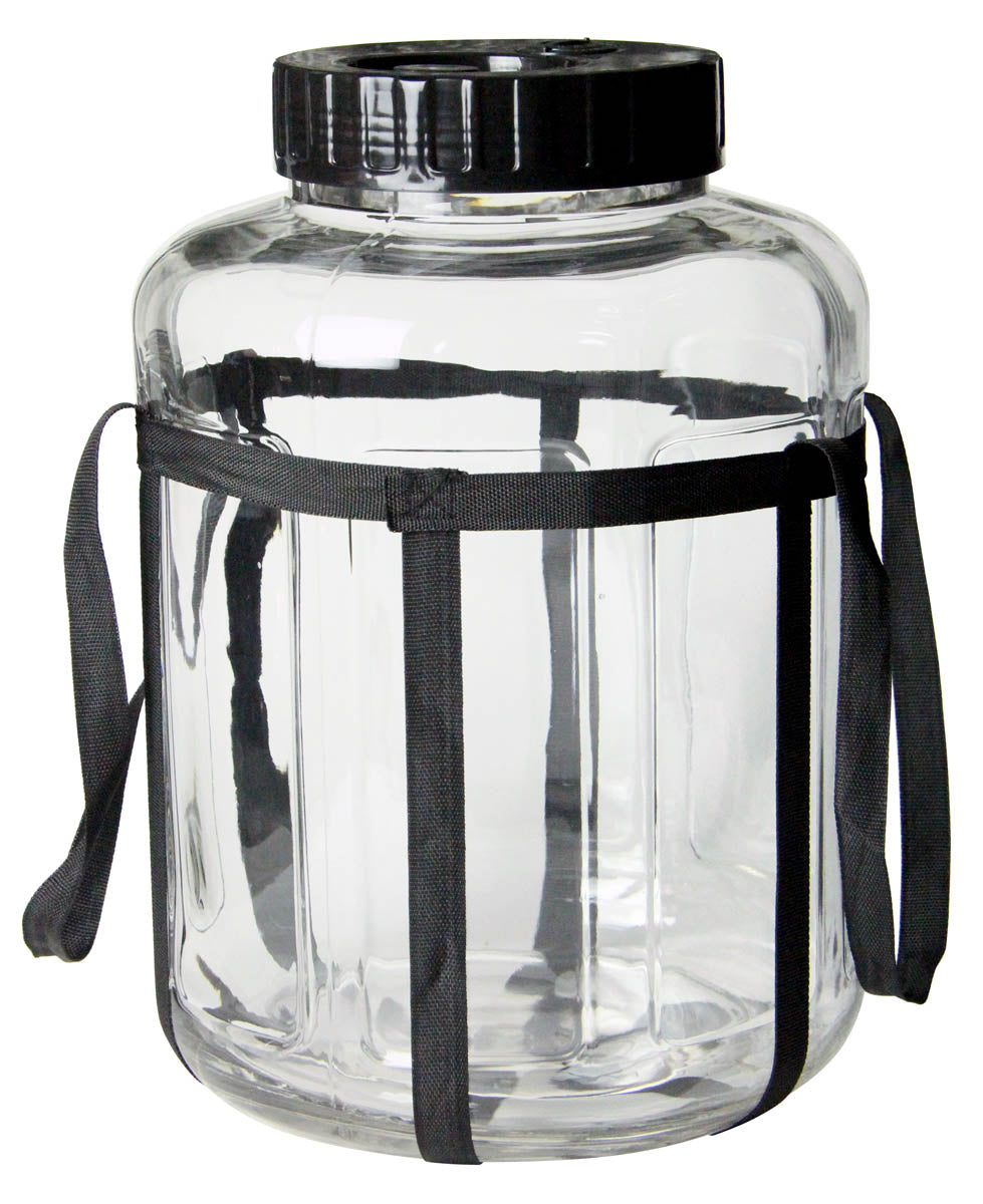4.75 Gallon Wide Mouth Glass Carboy