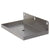 "10"" x 6"" Wall Mount Drip Tray with Drain"