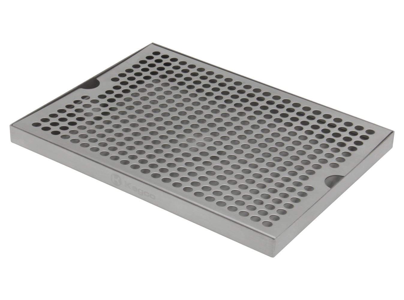 "12"" x 9"" Surface Mount Drip Tray without Drain"