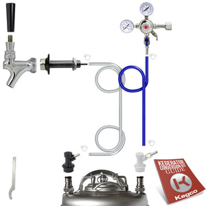Standard Homebrew Kegerator Conversion Kit without Tank
