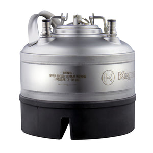 NSF Approved 1 Gallon Ball Lock Keg with Strap Handle - Set of 4
