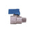 Regulator Ball Valve -  5/16 Hose Barb Outlet