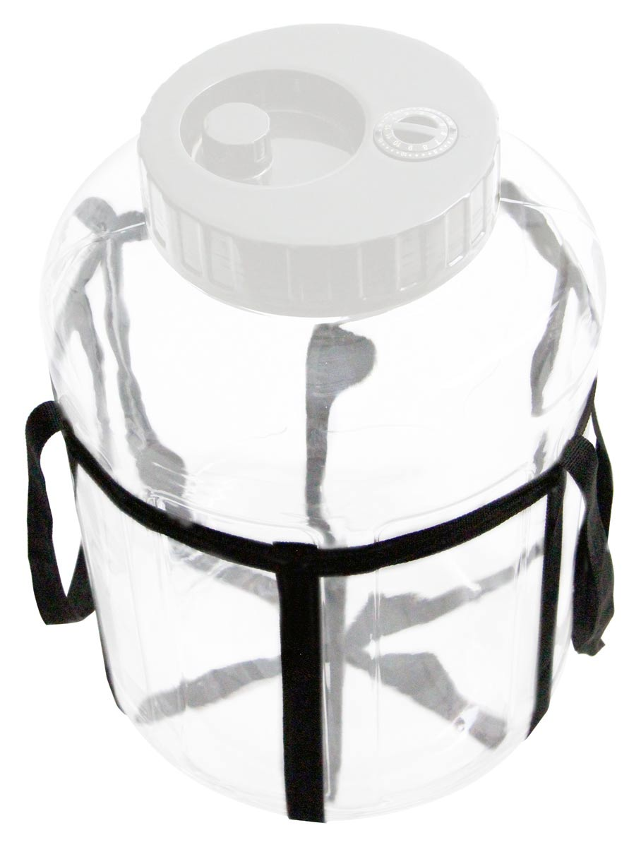 "Carrying Strap for Glass Jar or Carboy with a 10.5"" Diameter"