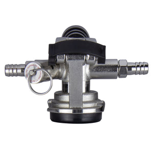 Low Profile D System Keg Tap Coupler