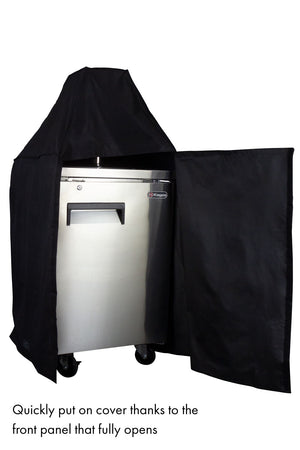 EZ-On Commercial Kegerator Cover with Door Panel