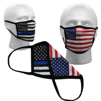 Made in USA Cotton Face Mask Coverings
