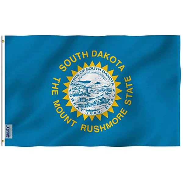 South Dakota State Flag -  Official Outdoor Flag SD