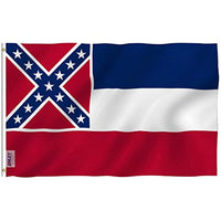 The Official State Flag of Mississippi