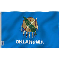 Official Flag for State of Oklahoma