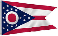 Official Flag State of Ohio Outdoor