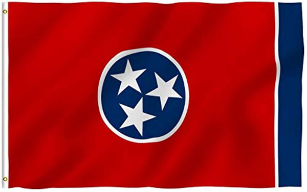 Official State Flag of Tennessee