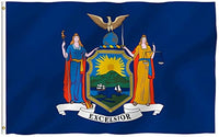 Official New York State Flag - Vivid Color and UV Fade Resistant