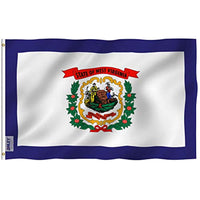 West Virginia State Flag - Vivid Color UV Fade Resistant