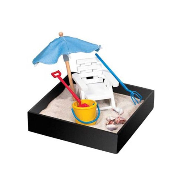 Florida Beach Fantasy Executive Mini-Sandbox - Desk Toy