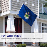 Maine State Flag - Vivid Color and UV Fade Resistant -